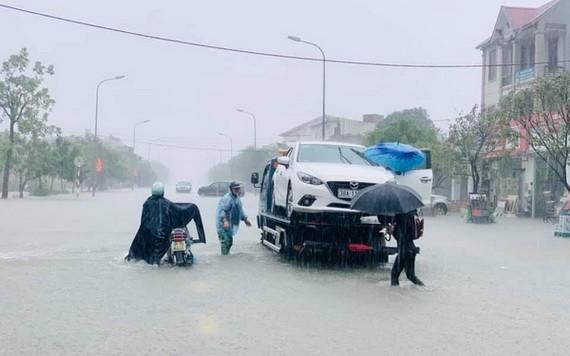 由於受10號颱風影響,中部區域多省強降雨。(示意圖源:淮南)