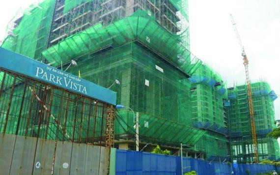 東湄公公司擔任開發商的芽皮縣福景鄉阮友壽街11B分區的商業結合安置房項目。