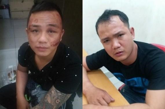 被抓獲的2名竊賊陳文福(左圖)和鄧文詩。(圖源:警方提供)