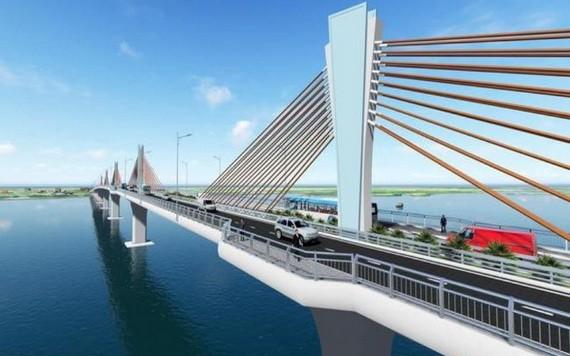 大義橋效果圖。(圖源:交通運輸部)