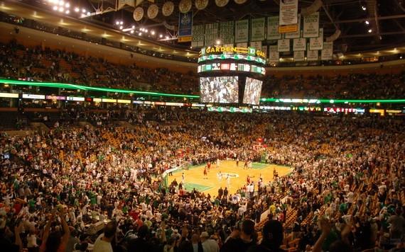 NBA某個賽場。(圖源:互聯網)