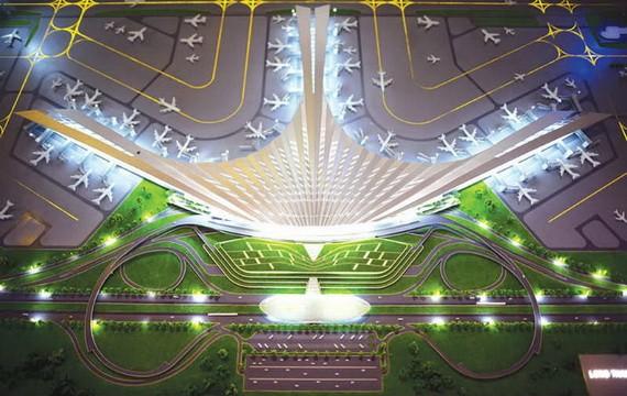 圖為隆城機場總體設計圖。(圖源:ACV)