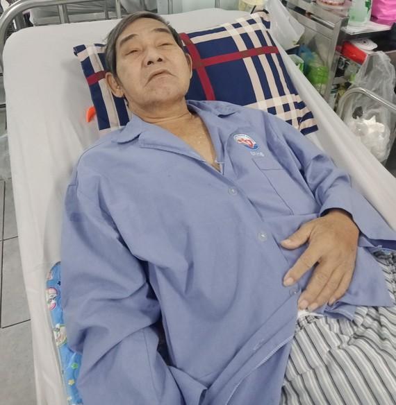潘趙世正在醫院接受醫治。