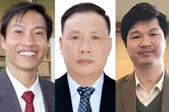 連續兩年入榜的3名越南科學家。(圖源:VTC News)