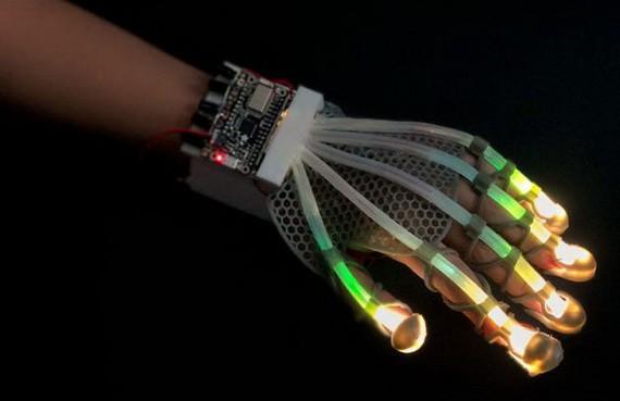 VR手套。(圖源:互聯網)