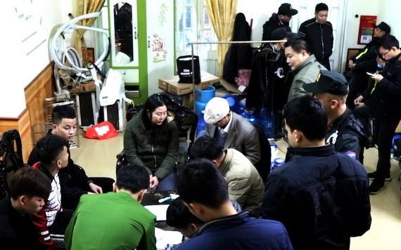 廣平省公安力量近日偵破一宗放高利貸犯罪集團案。(圖源:越通社)