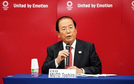 東京奧組委首席執行官武藤敏郎。(圖源:互聯網)