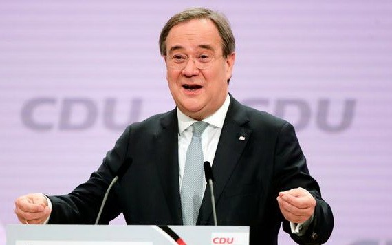 北萊茵-威斯特法倫州州長阿明‧拉舍特在第二輪投票中當選為主席。(圖源:路透社)
