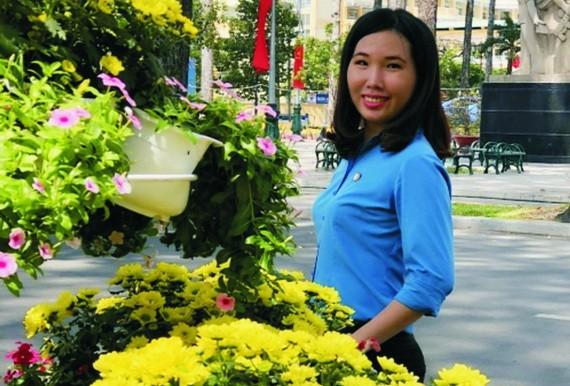 劉歡儀是擁有一顆愛心的年輕黨員。