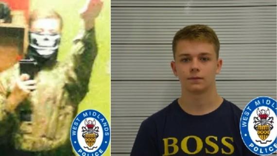 英國最年輕恐怖份子保羅·鄧利維(Paul Dunleavy)。(圖源:West Midlands Police)