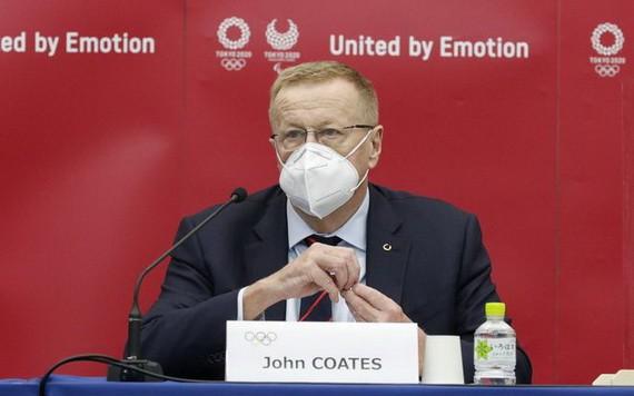 國際奧委會副主席約翰‧科茨。(圖源:互聯網)