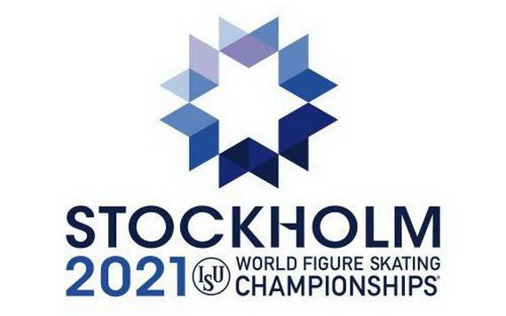 2021年花滑世錦賽標誌。(圖源:互聯網)