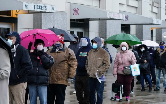 疫情下的美國。(圖源:AFP)