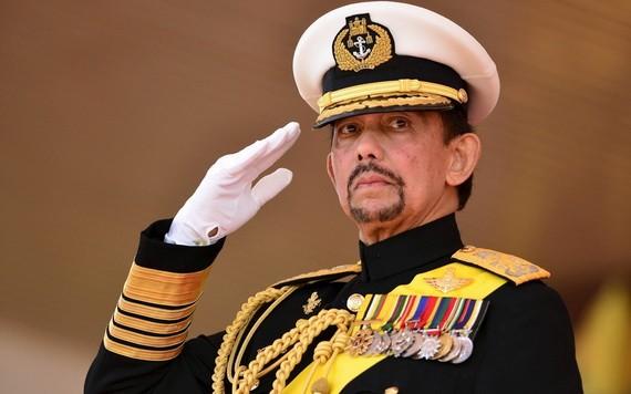 汶萊達魯薩蘭國國王蘇丹哈桑納爾‧博爾基亞。(圖源:Getty Images)