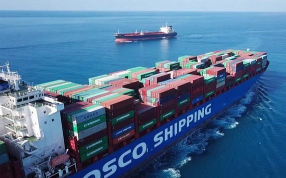 水路集裝箱商品運輸費及附加費最近大幅上漲。(示意圖源:互聯網)