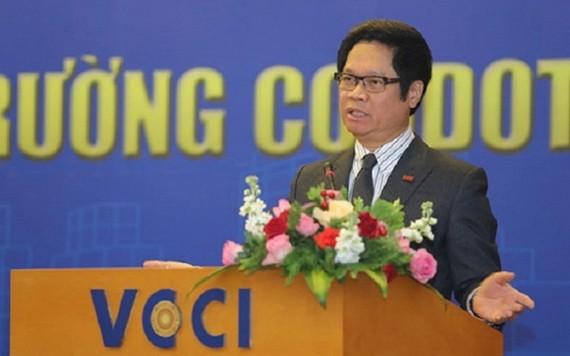 越南工商會(VCCI)主席武進祿。(圖源:永芝)