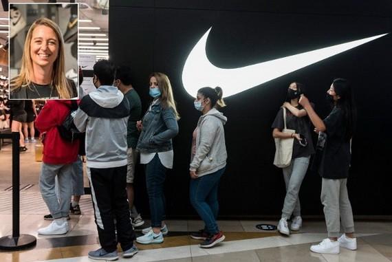 Nike高層赫伯特(小圖)宣佈請辭。(圖源:互聯網)