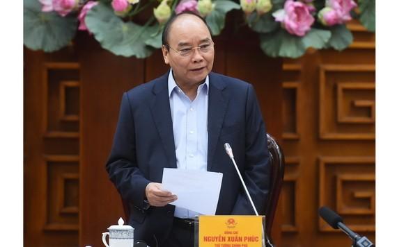 政府總理阮春福指導會議。(圖源:光孝)