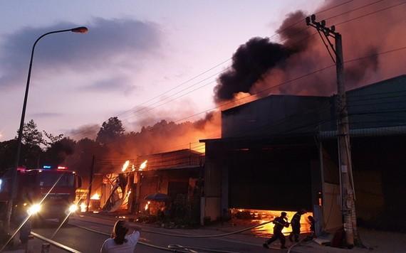 火警現場。(圖源:越通社)