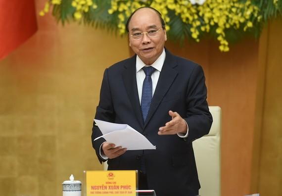 政府總理阮春福會上致辭。(圖源:光孝)