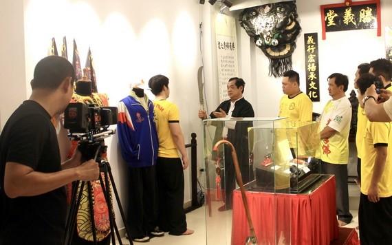 越南央視拍攝勝義龍獅團記錄片下週一播出。