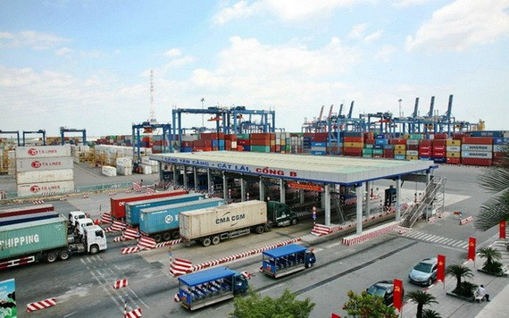 桔莱港口每日的货物吞吐量极大。(图源:民智)