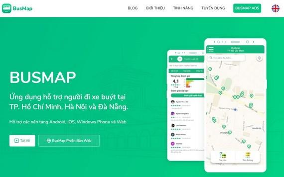 圖為BusMap應用程式。