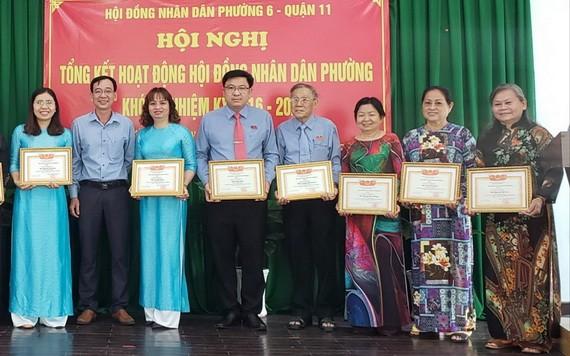 第十一郡第六坊5位華人獲表彰