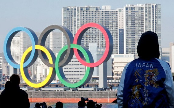 東京奧組委與國際奧委會等五方舉行會談後於20日晚正式宣佈,東京奧運會及殘奧會確定不接待國外觀眾。(示意圖源:路透社)