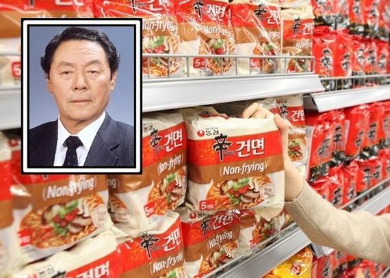 辛春浩(小圖)於首爾病逝。(圖源:互聯網)