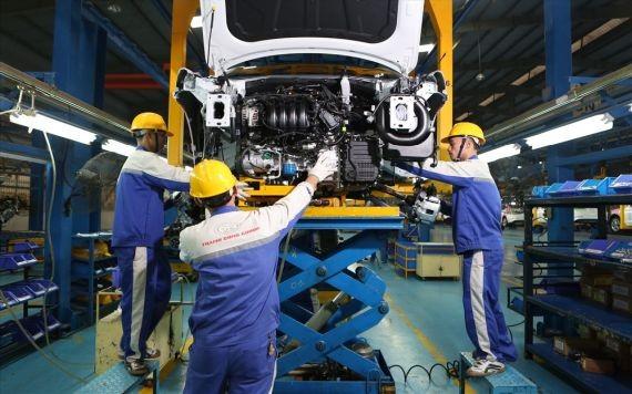 汽車生產車間一瞥。(圖源:范蓉)
