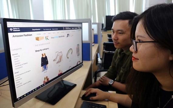 越南商品增加在线出口