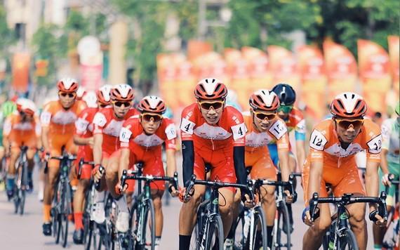 2021年市電視台盃-HTV東亞鍍鋅板全國自行車錦標賽從今(6)日起在高平省正式開賽。(圖源:BTC)