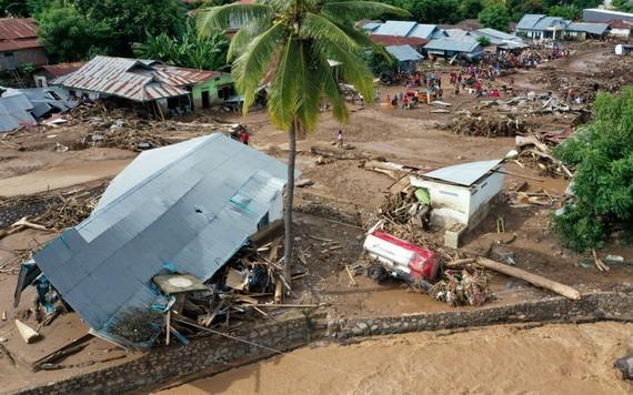 印尼東努沙登加拉省和和東帝汶近日發生的極端天氣已經導致128人死亡、72人受傷。 (圖源:路透社)