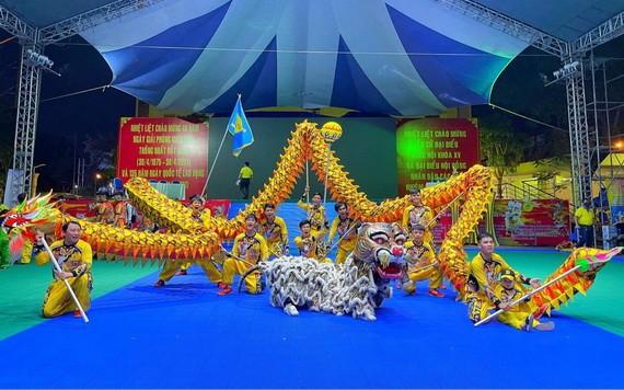 海南聯友龍獅團榮獲雙冠軍