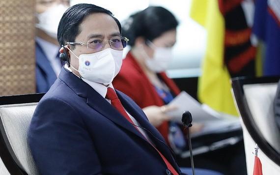政府總理范明政出席東盟領導人會議。(圖源:越通社)