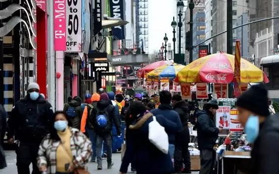 圖為紐約市曼哈頓街頭。(圖源:Getty Images)