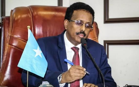 索馬里現任總統穆罕默德。(圖源:AFP)