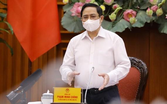 政府總理范明政。(圖源:越通社)
