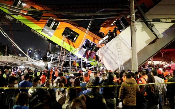 事故現場。(圖源:路透社)