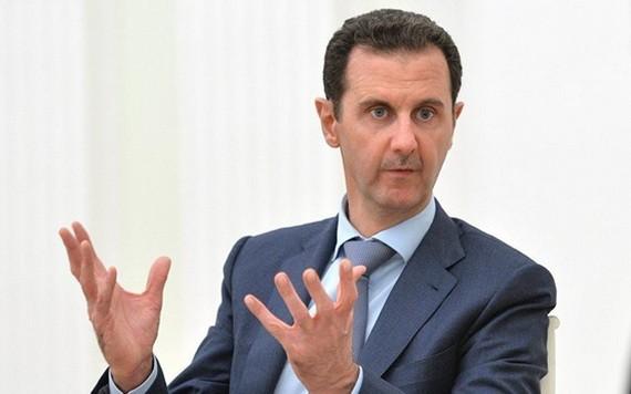 敘利亞總統阿薩德。(圖源:Sputnik)