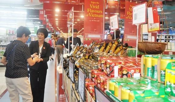 憑藉Saigon Co.op與NTUC FairPrice合作,新加坡市場售賣許多越南商品。