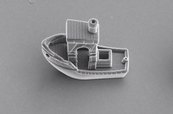 3D 打印世界上最小船