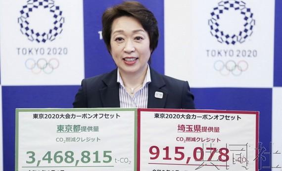 東京奧運會和殘奧會組織委員會橋本聖子。(圖源:共同社)