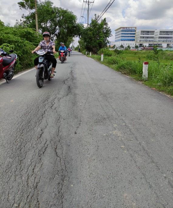 路面損壞未見修補