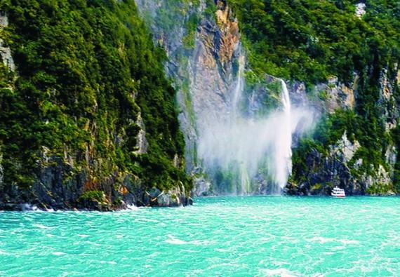 峽灣國家公園自然風景。