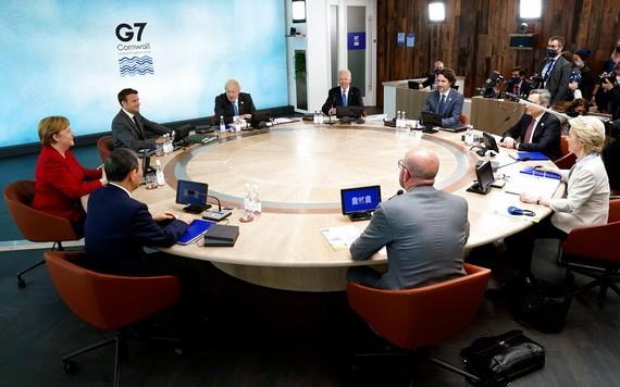 G7領導人開啟為期三天的峰會。(圖源:路透社)