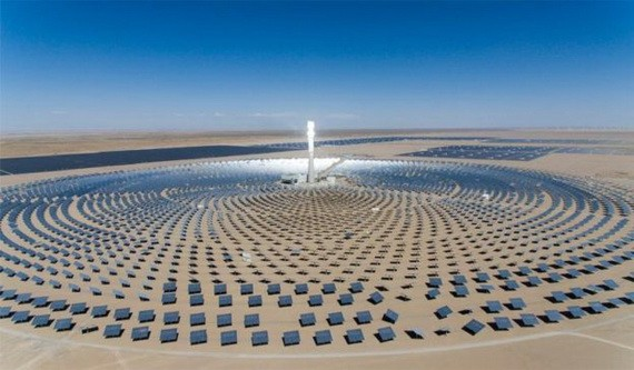 智利打造拉丁美洲首座容量 110 MW 聚光太陽能