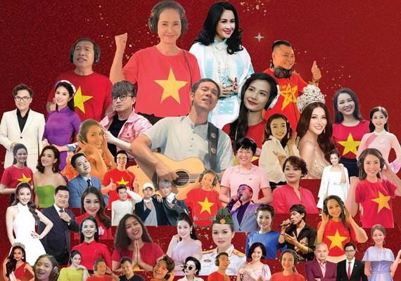 50名藝人聯手製作《越南力量》