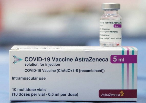 阿斯利康疫苗。(圖源:互聯網)